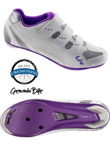 GIANT LIV scarpe ciclismo bici corsa donna woman bike road shoes viola REGALO