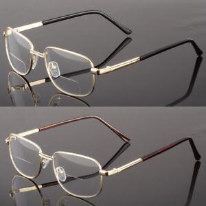533b27f1f83 NEW BIFOCAL READING CLEAR GLASSES MEN WOMEN S QUALITY 1.25~4.00 ...