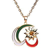 Neda Soltan Iranian Persian Hero Necklace Chain Iran Persia Flag Gift Farvahar