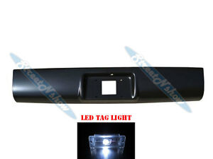 1994 2003 S10 Pickup Rear Roll Pan Amp License Plate W Led