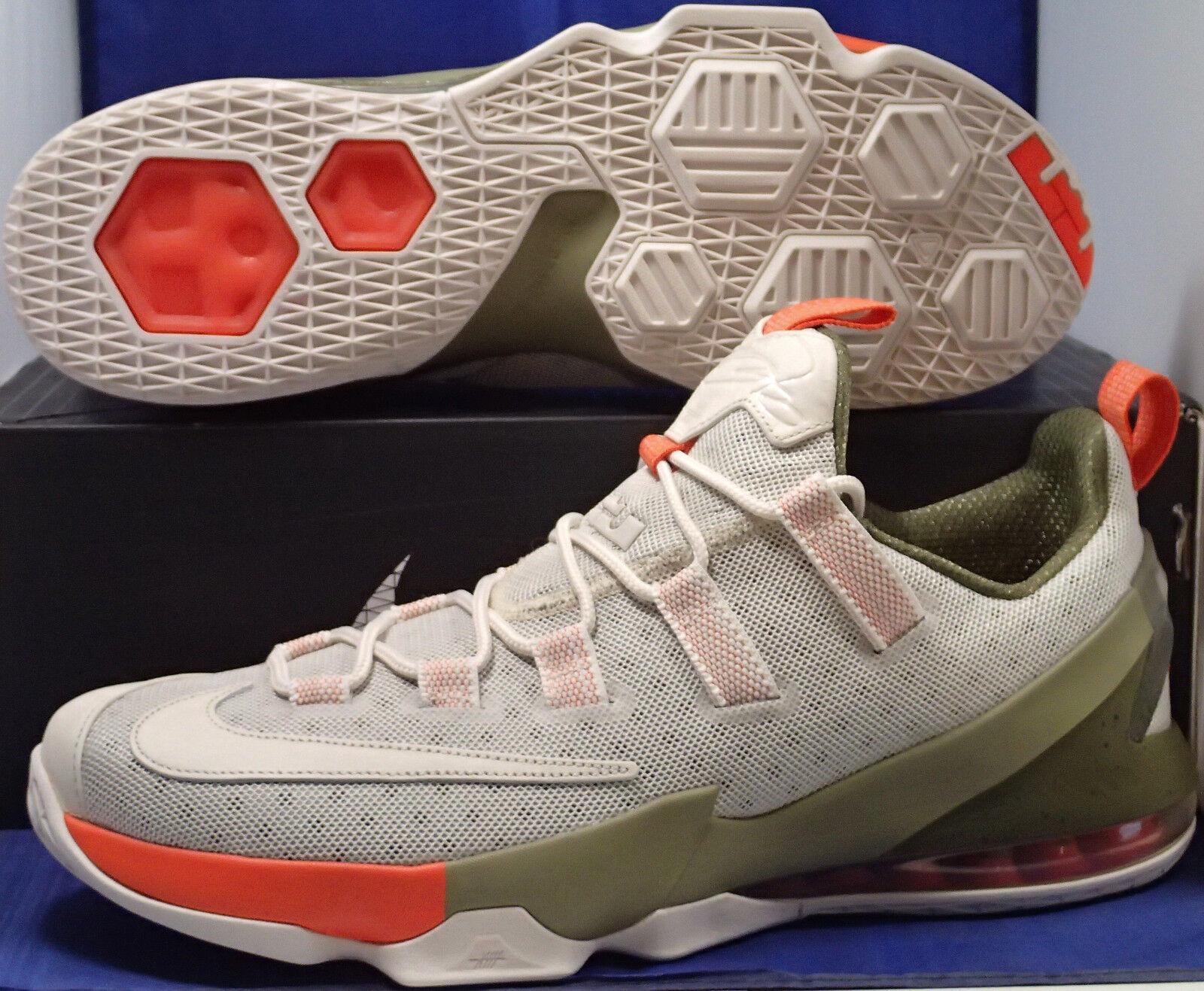 Nike Lebron Phantom XIII 13 faible Limited Phantom Lebron Olive Orange SZ 14 ( 849783-002 ) 451b34