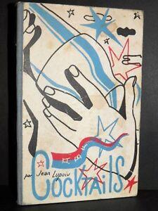LUPOIU Cocktails EDITION ORIGINALE Couverture Géa AUGSBOURG Pub MIXOLOGIE 1938 nCq4HRuH-07153753-144868701