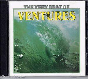 Very-Best-of-the-VENTURES-EMI-Australia-1992-Oop-CD-60s-Oldies-Surf-Rock