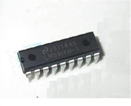 5Pcs DIP-18 DIP18 LM3915 LM3915N-1 Nsc Dot//Bar Dispaly Driver New Ic cu