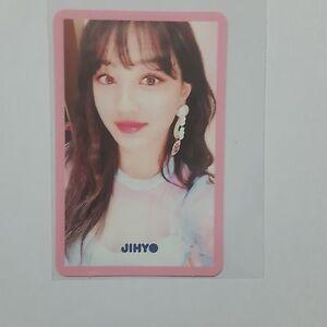 Twice-JIHYO-Official-Photocard-SIGNAL-4th-Mini-Album-Pink-Ver-K-POP-Korea