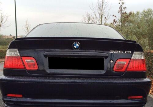 SPOILER BECQUET DE COFFRE M BMW SÉRIE 3 E46 PRÊT A PEINDRE 330ci 320cd 330cd