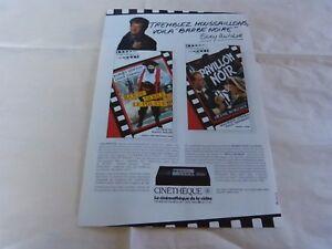 """EDDY MITCHELL - PUBLICITE CINETHEQUE 7 !!!!!!!!!!! - France - Commentaires du vendeur : """"Voir description / See description"""" - France"""