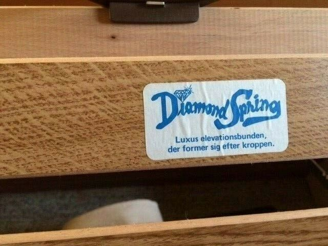Dobbeltseng, Diamond Spring, b: 250 l: 230 h: 100