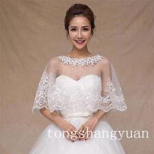 Free Shipping Cheap Wraps Crystals Sequin Bridal Wedding Bolero Jackets In Stock
