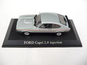 Norev 1:43 Ford Capri Mk3 2.8 Injection 1984 Bleu Arctique 270561