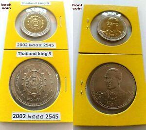 Thai 100 Baht Y 2015 Mint Proof Coins 100 Year Revenue Commemorative King 9 Unc.