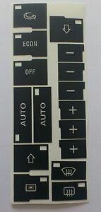 AUDI-a4-8e-b6-b7-clima-frontale-Climate-Control-Tasti-attenenti-Set