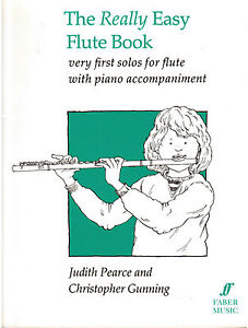 The-REALLY-EASY-FLUTE-BOOK-with-Piano-Accompaniment-NEW-Music-Book