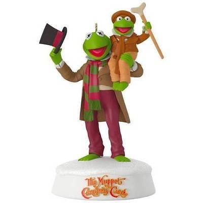 2017 Hallmark Muppet Christmas Carol 25th Anniversary Ornament Kermit Tiny Tim | eBay