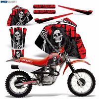 Decal Graphics For Honda Xr80-xr100 Dirtbike Mx Wrap Motocross Deco 85-00 Reap R