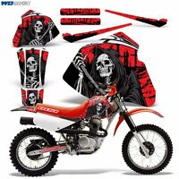 Decal Graphics For Honda Xr80-xr100 Dirtbike Mx Wrap Motocross Deco 85-00 Reap R