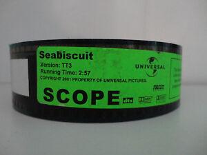 SEABISCUIT  2003 35mm Movie Trailer #3 Film Collectible SCOPE  2min  57secs