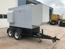 200 Kw Perkins Portable Genset On Tandem Axle Trailer Sound Attenuated Yea