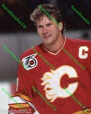 Joel Otto CALGARY FLAMES 8 X 10 COLOR PHOTO hockey #F5O7fzgs9