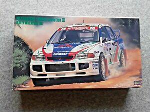 HASEGAWA-MITSUBISHI-LANCER-EVO-III-MALAYSIA-1996-1-24-MODEL-KIT