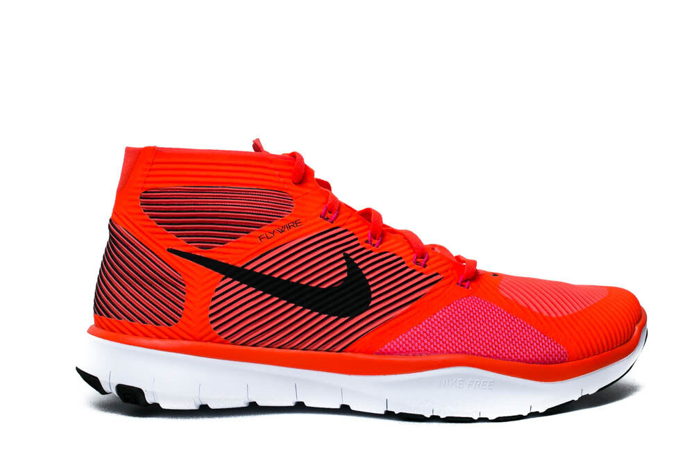 NIKE FREE TRAIN INSTINCT MENS RUNNING SHOES TOTAL CRIMSON 833274 860