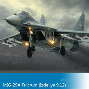 Trumpeter-01674-1-72-Scale-Mikoyan-MIG-29A-Fulcrum-Aircraft-Izdeliye-9-12-Model