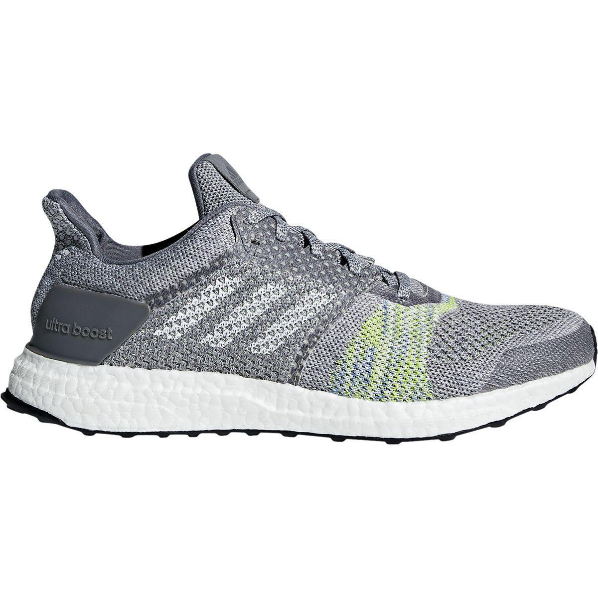adidas ultra boost st st boost chaussure de course - hommes gris deux Gris  cinq solar bave 10,5 364c3b