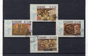 Ecuador-Juegos-Olimpicos-de-Mexico-Valores-del-ano-1967-DP-635