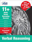 More Verbal Reasoning Age 10-11: Assessment Papers (Letts 11+ Success) by Colin Sowter (Paperback, 2011)