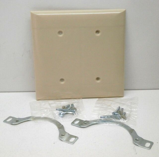 NEW Pass /& Seymour Legrand TP26-I Ivory 1-Gang Decorator Rocker Wall Plate