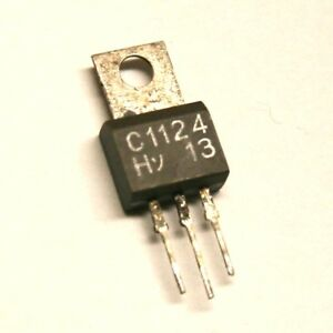 Pulled original transistor 2SC1124