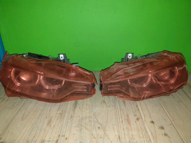 BMW F30 XENON HEADLIGHTS COMPLETE ORIGINAL NEW