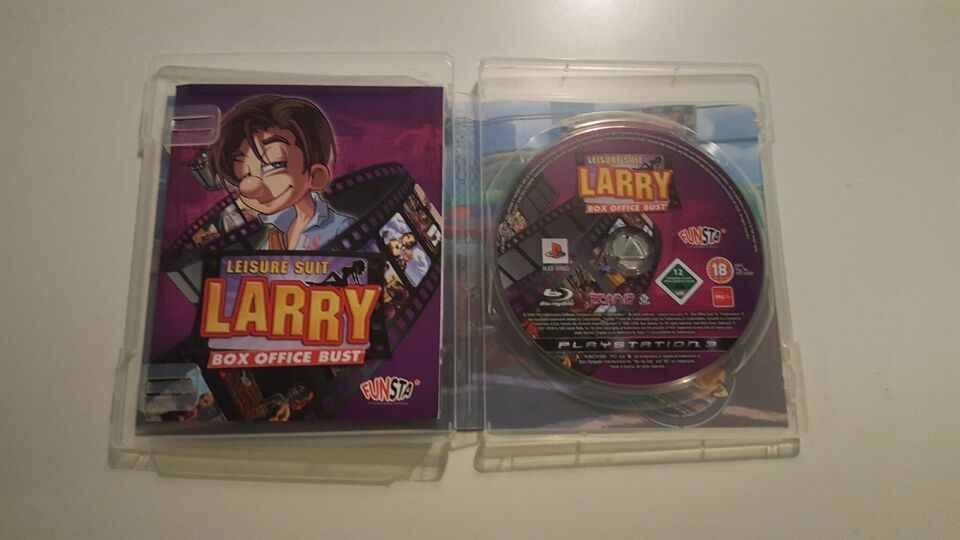 Leisure suit Larry, PS3