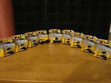 CAT Caterpillar Construction Toys Lot of 9 Mini Machines BRAND NEW LOW PRICE