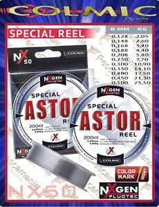 Monofilo-mulinello-Colmic-NXgen-Fluotec-Astor-mt-200