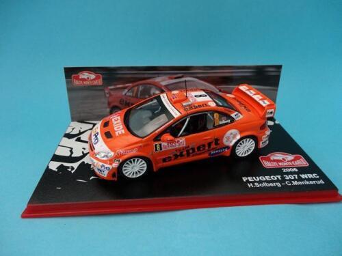 RALLY MONTE CARLO 2006-1//43 NEW IXO ALTAYA SOLBERG PEUGEOT 307 WRC #8 H