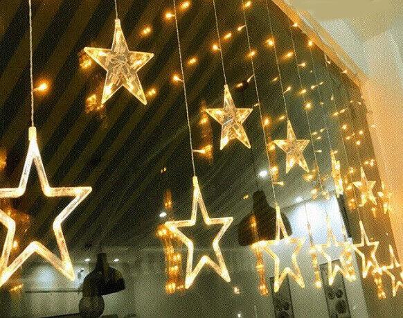 E41 Wedding Xmas Outdoor Indoor Bedroom Party Decoration String Light 2.3M