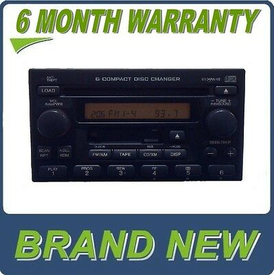 03 04 05 06 HONDA CR-V CRV Radio Stereo 6 Disc Changer CD Player AM FM Factory