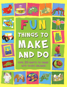 Fun Things To Make And Do Kids Craft Ideas Paint Glue Collage Model