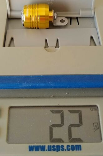 Angle Bracket for fender rack or fork Aluma-Lites FRONT Safety light 1 LIGHT