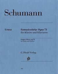 Musical Instruments & Gear Schumann Fantasy Pieces Op73 Orig Clarinet A/bb Sufficient Supply Wind & Woodwinds