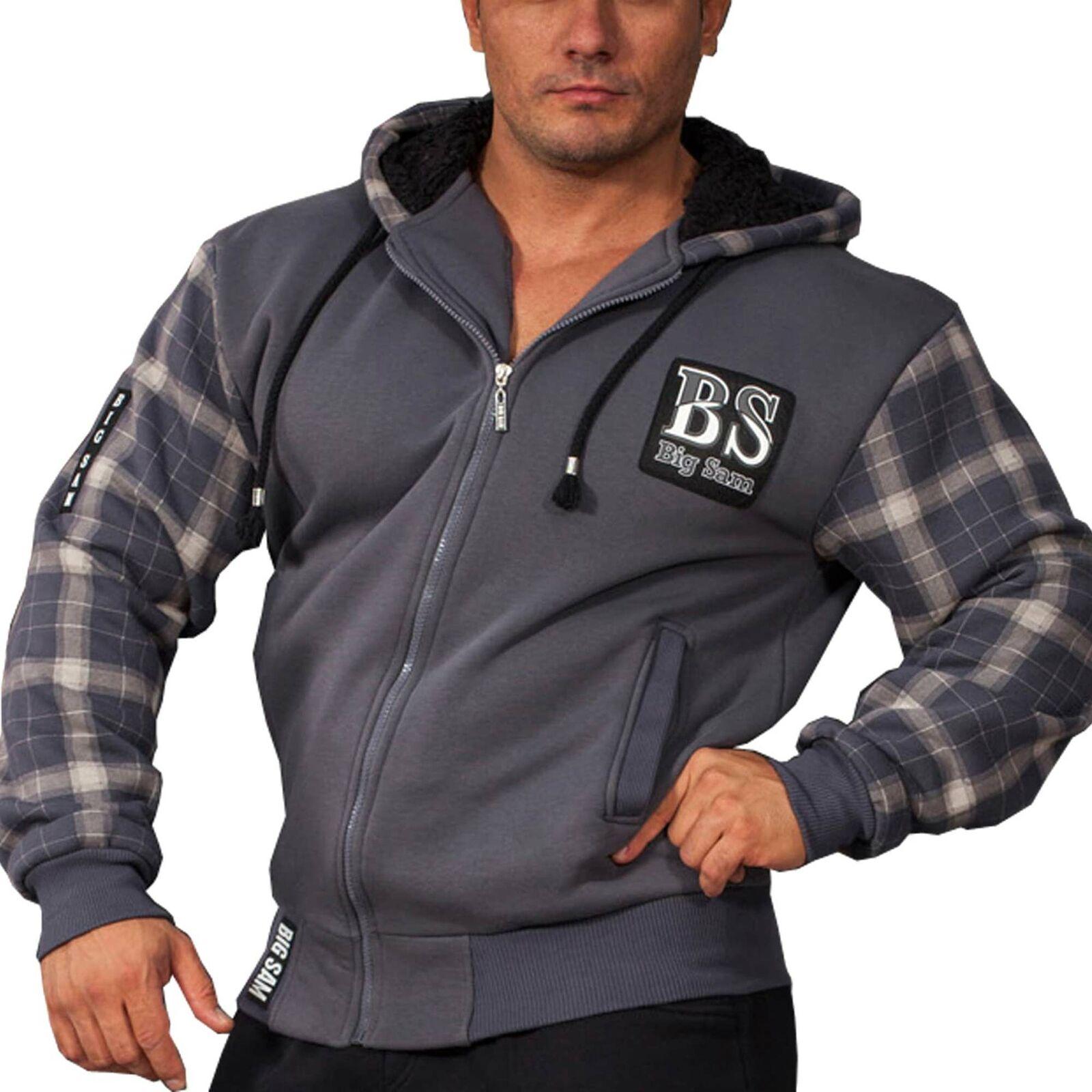 BIG SM EXTREME SPORTSWEAR Bodybuilding Sweatshirt jacket Hoody 3588
