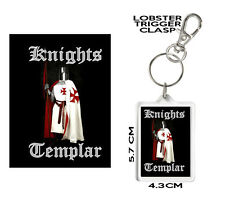 Knight's Templar, Assassins Creed,  Keyring or Bag Tag. Can Be Personalised