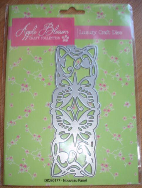 Nouveau Panel Apple Blossom Craft Collection Die (ASCC1464)