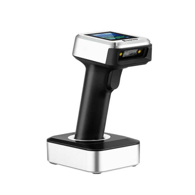 Eyoyo 2.4G Wireless Bluetooth USB Wired CCD Barcode Scanner w/ Real Time for PC
