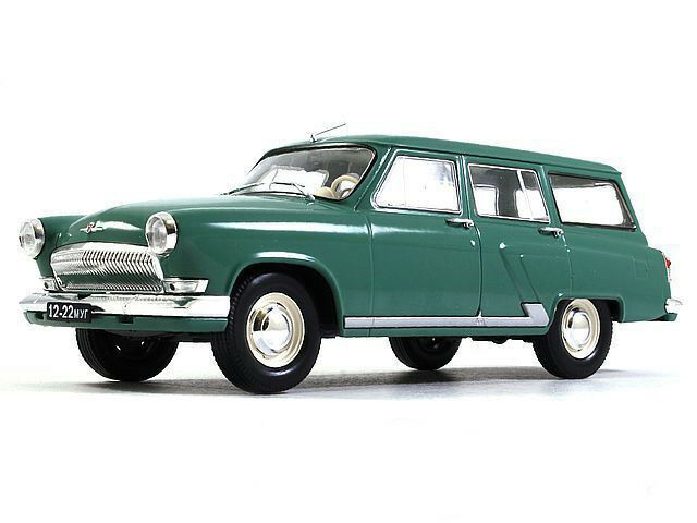 GAZ-22 Volga Station Wagon 1 24 Scale 1962 Year Collectible Diecast Model Car