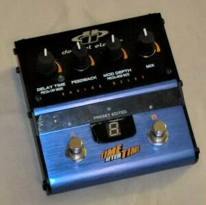 DECIBEL-ELEVEN-TIME-AFTER-TIME-DB11-TAT-ANALOG-DELAY-GUITAR-EFFECTS-PEDAL