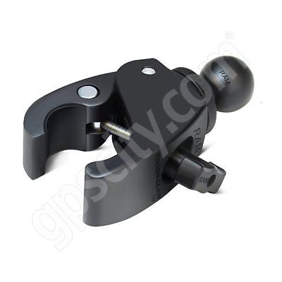 RAM Mount Aluminum 1 inch B-Ball Open Socket System with Round Base and Long Arm