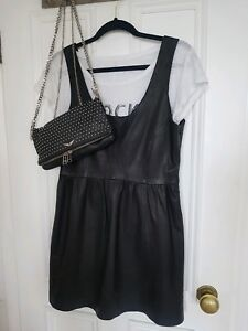 taille cuir en Kooples M Robe The Zara p0CwBq
