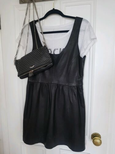 M cuir taille Robe The Kooples Zara en gqvBCwT